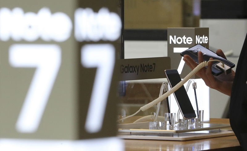 South Korea Samsung Halting Note 7 Sales