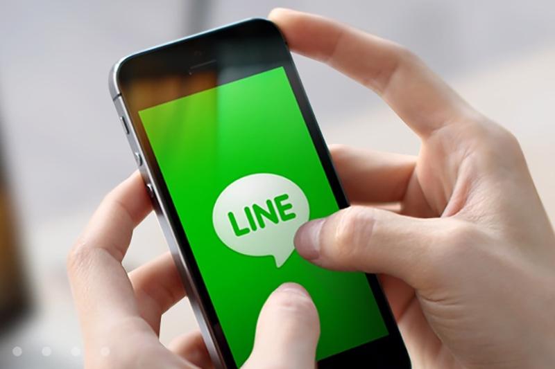 LINE在台擁有廣大的1800萬用戶。(翻攝LIN